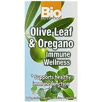 Bio Nutrition Immune Wellness Olive and Oregano Vegi-Caps, 60 Count