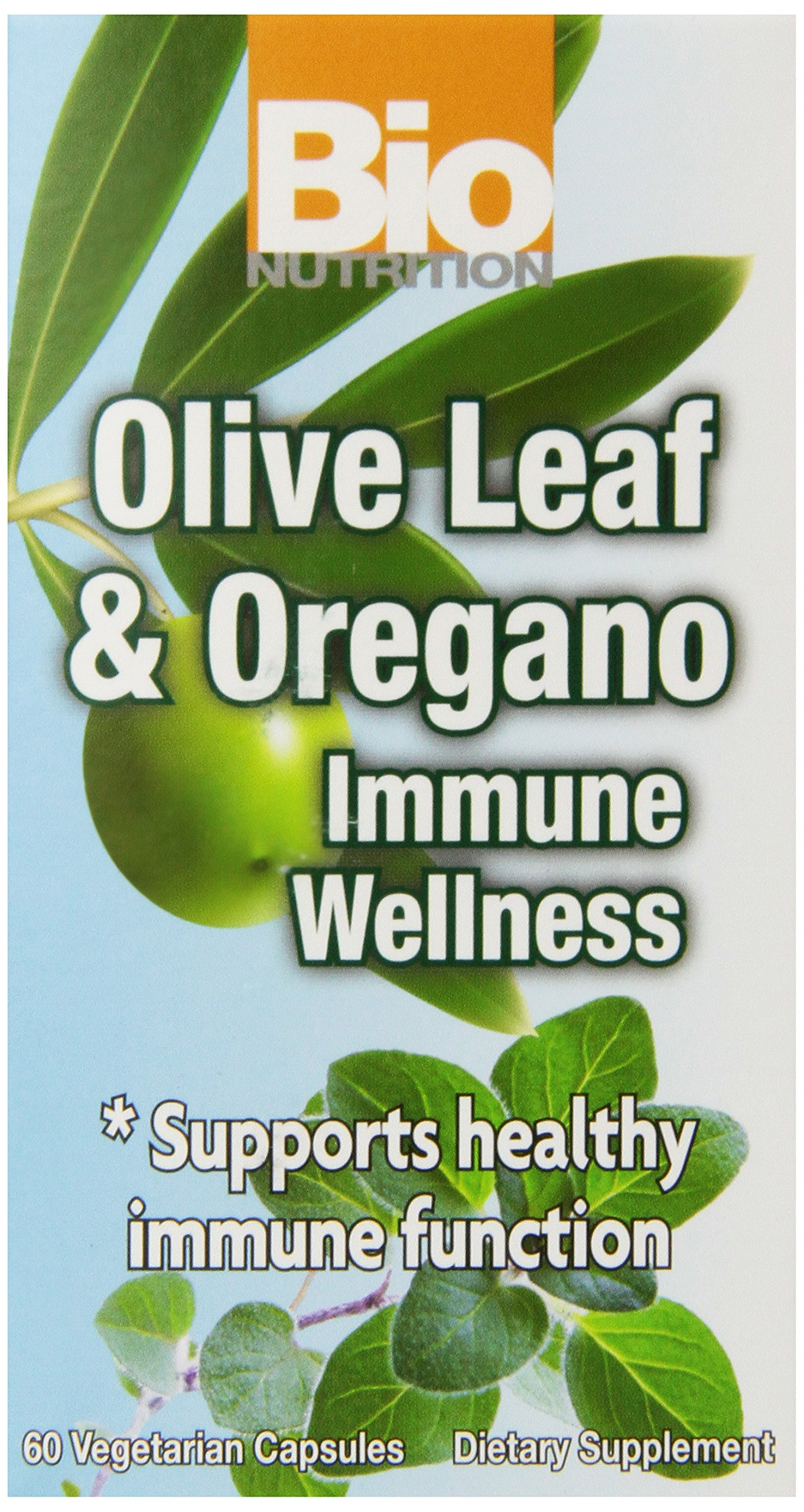 Bio Nutrition Immune Wellness Olive and Oregano Vegi-Caps, 60 Count by Bio Nutrition (Image #1)