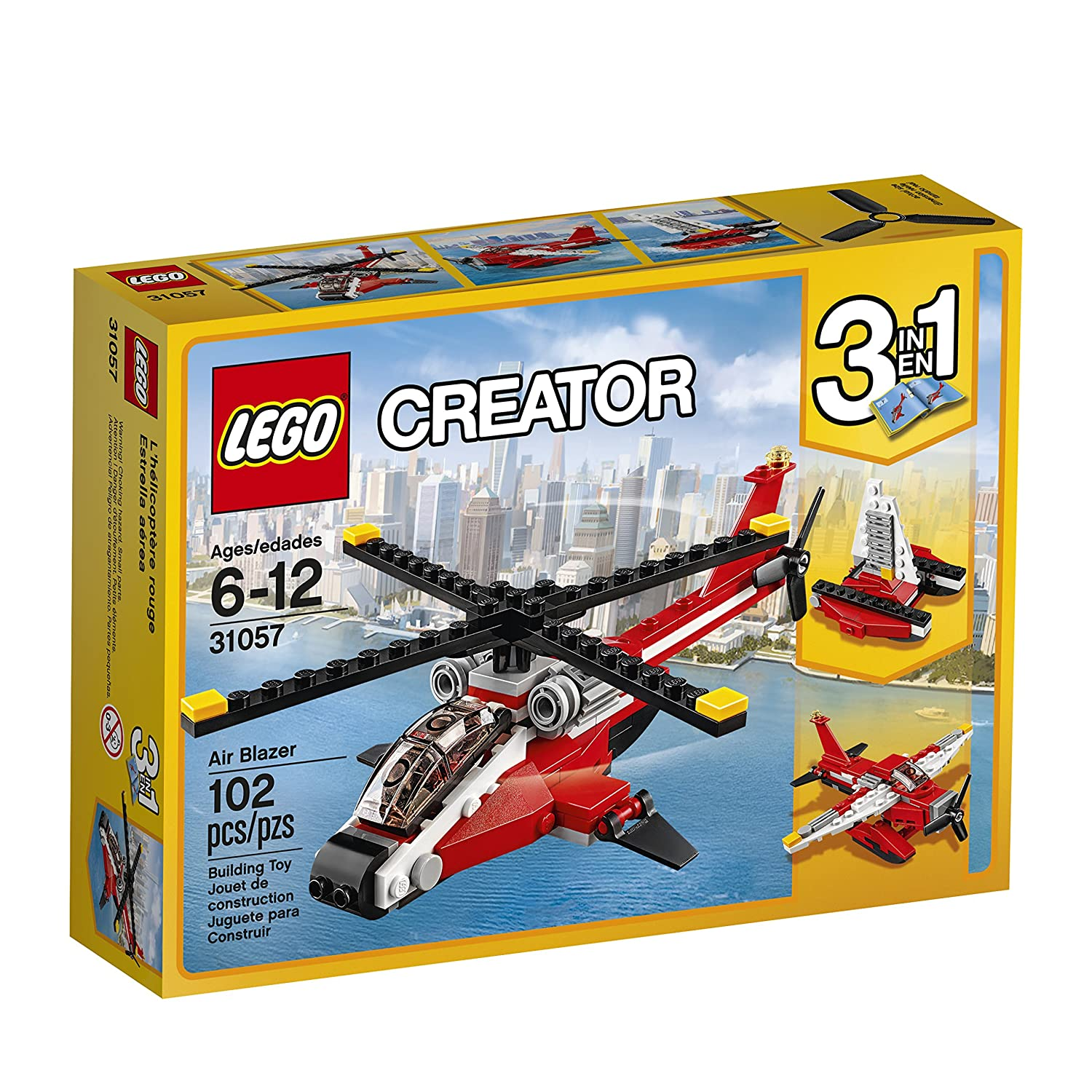 $9.67(was $12.99) LEGO 6175241 Creator Air Blazer 31057 Building Kit