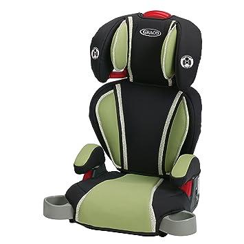 amazon com graco highback turbobooster car seat, go green baby