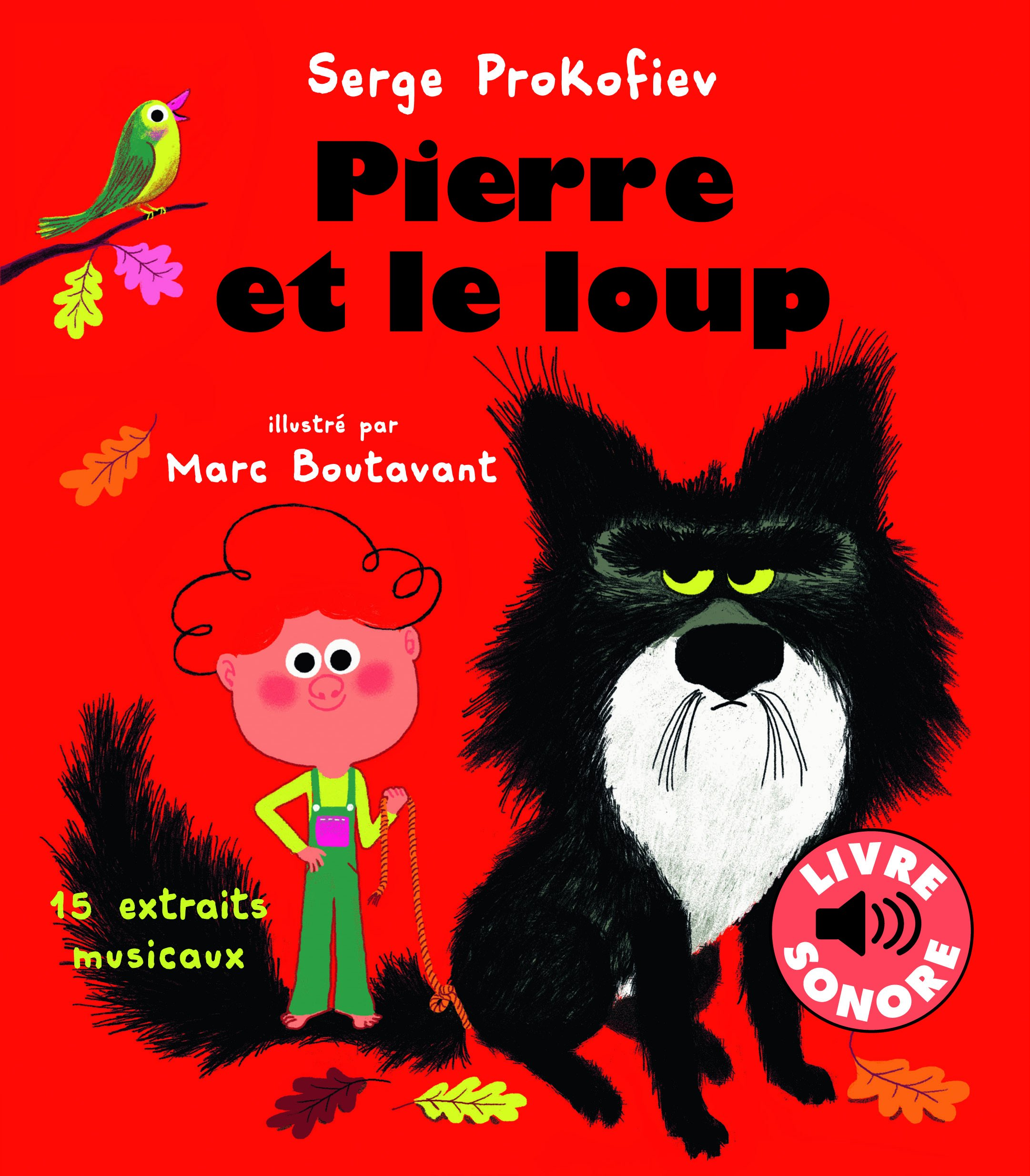 Pierre Et Le Loup 15 Extraits Musicaux 9782070592968