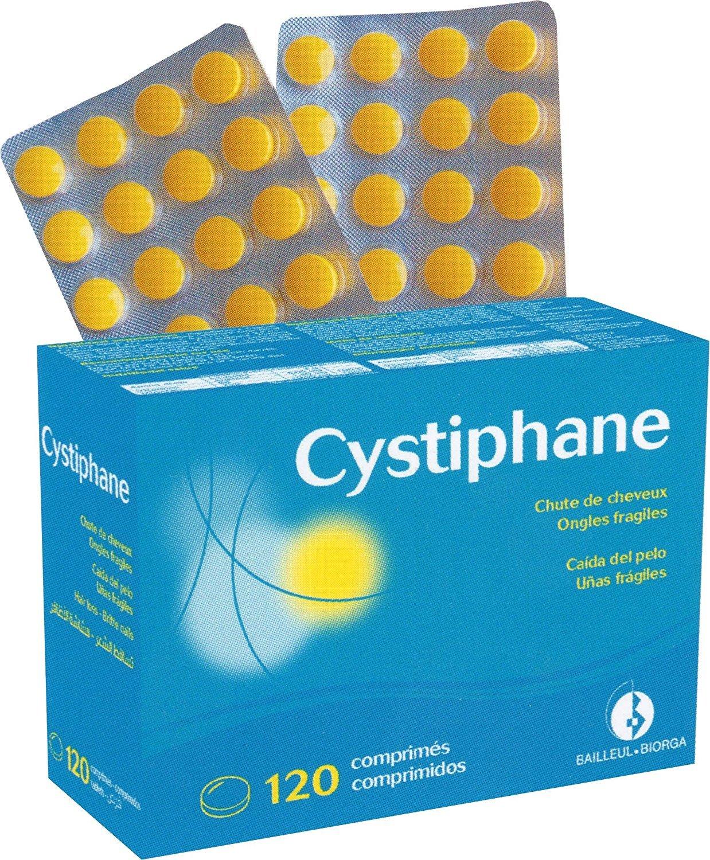 cystiphane bailleul- Cistina B6 - Zinc - Arginine - Cabello y Uñas - Salud - fuerza y Vitalité protege del stress oxydatif - Complemento alimenticio para ...