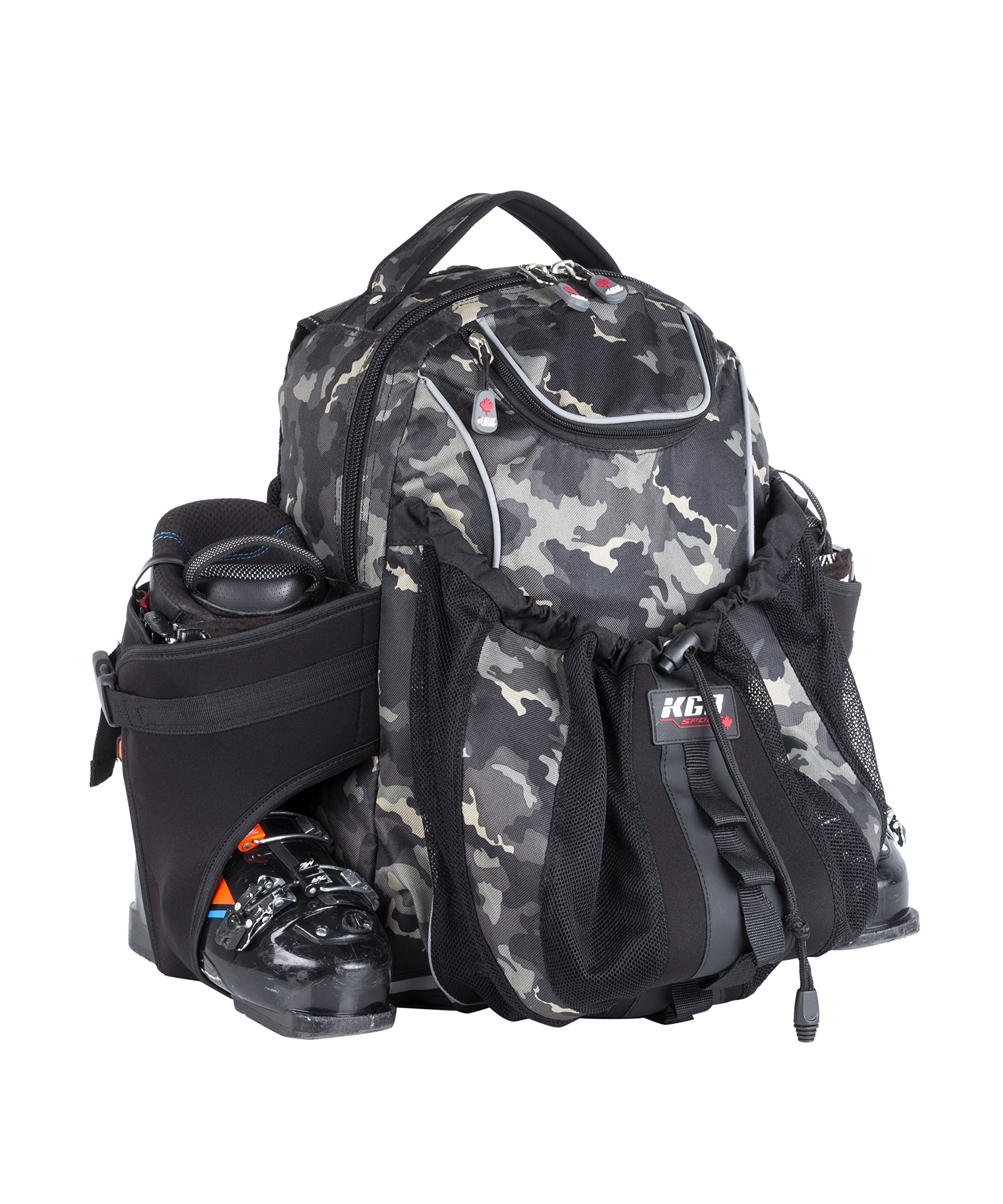 KGB Sport Pro Ski Boots Bag, Camouflage, One Size by KGB Sport