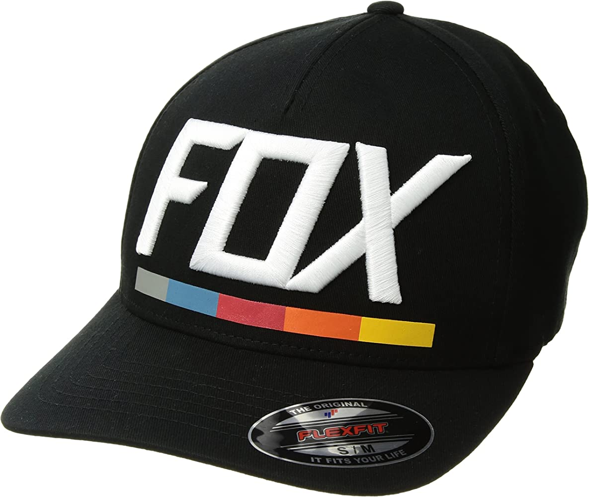 Fox Gorra Flexfit Visera Redondeada Draftr Negro (L/Xl, Negro ...