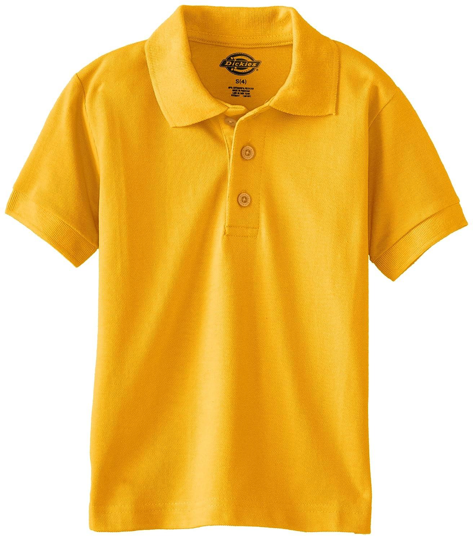 Dickies Boys Short Sleeve Pique Image 3