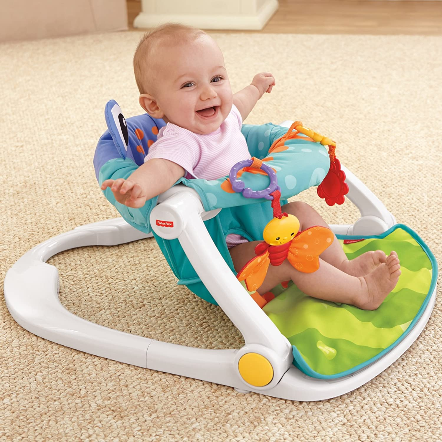 Amazon.com   Fisher-Price Sit-Me-Up Floor Seat   Baby 55fe0f39af93c