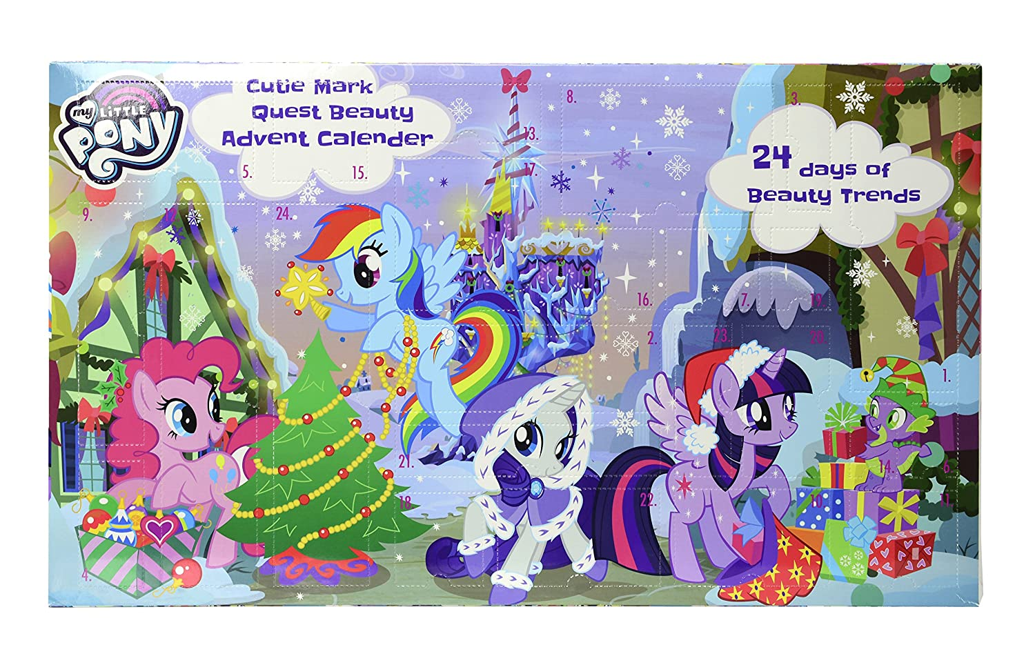 MY LITTLE PONY Calendrier de l'Avent Maquillage 9712410
