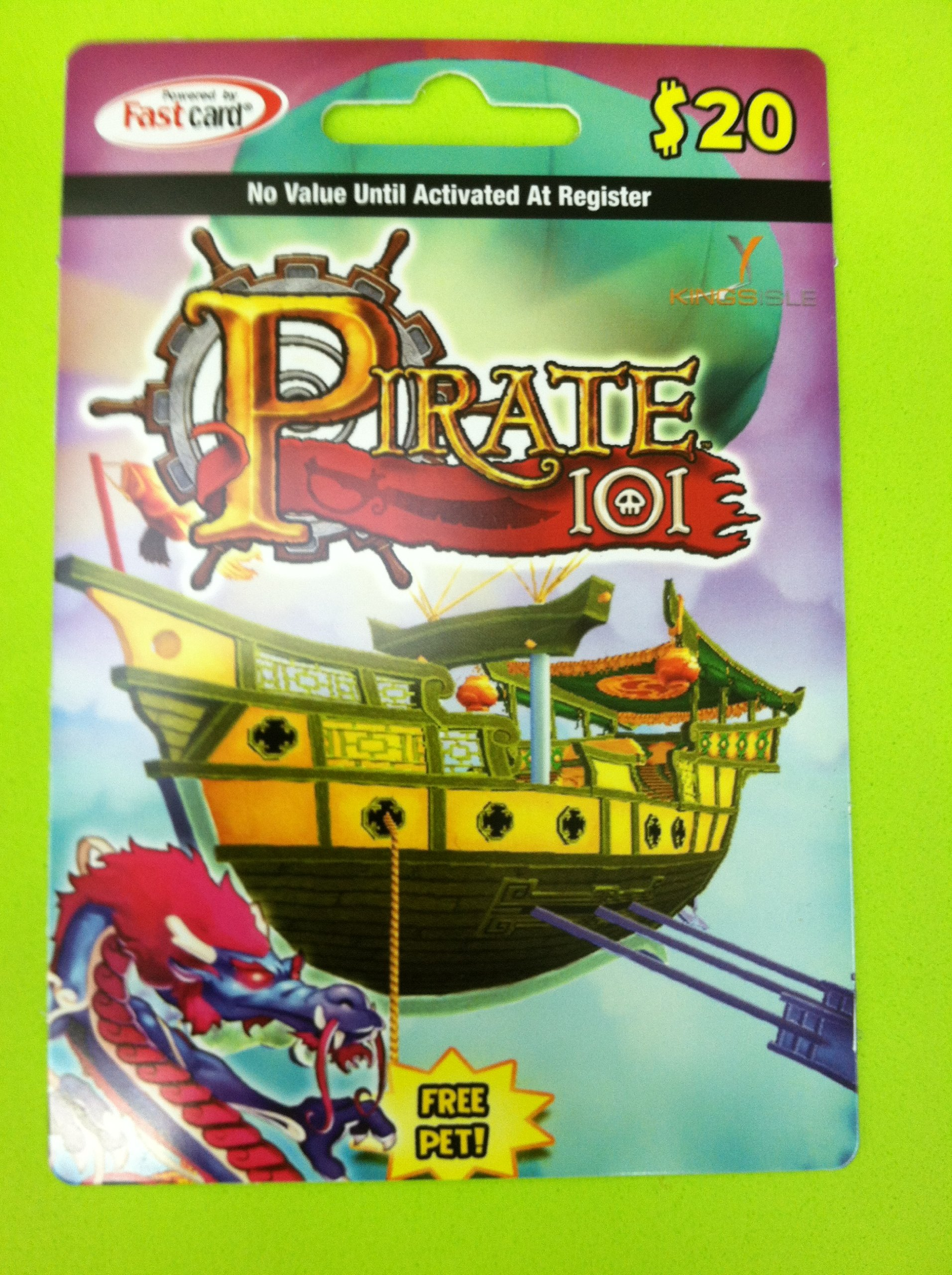 Amazon.com: Pirate101 2-month Online Game Membership Card with Free ...