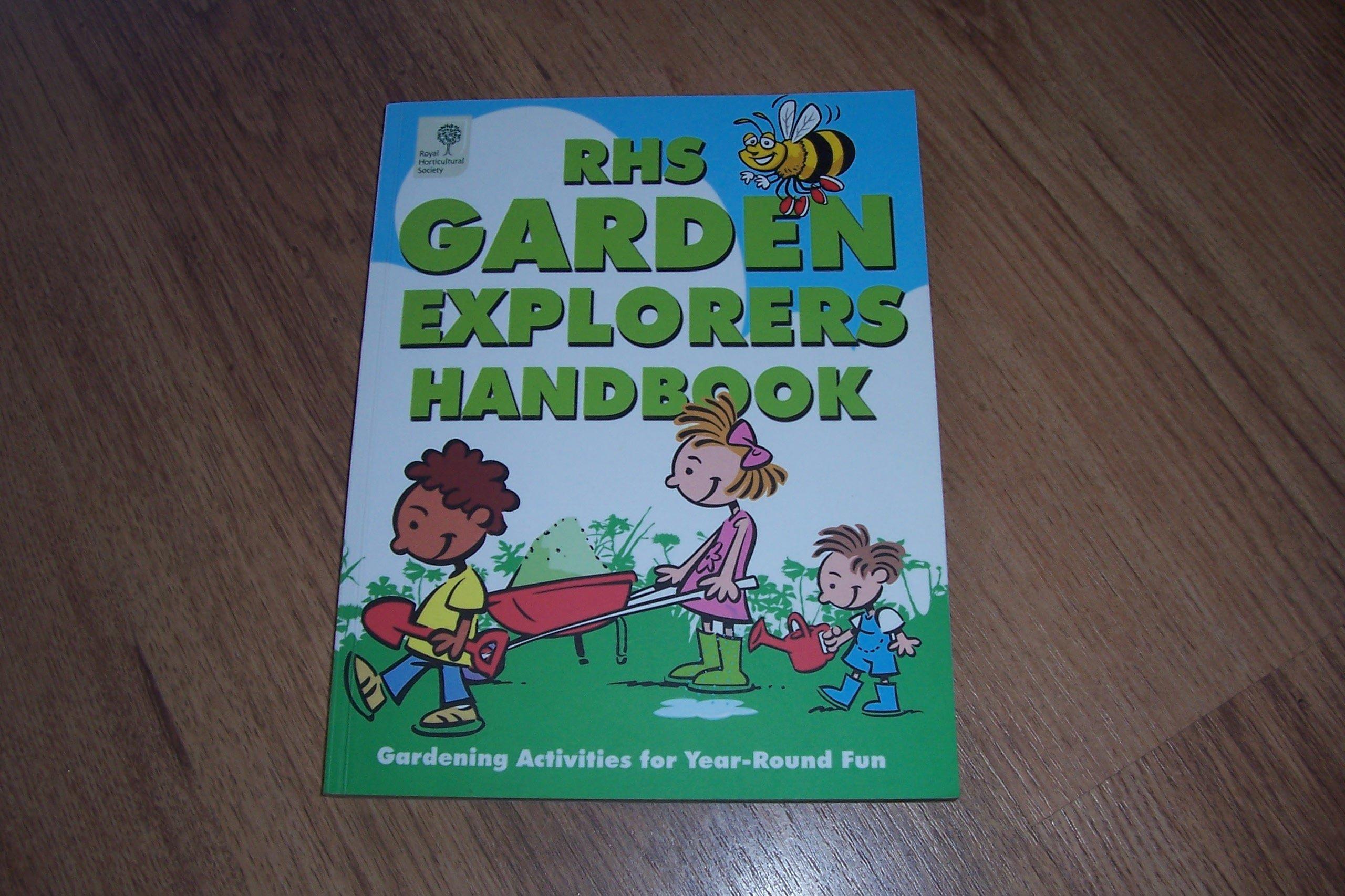 Download RHS Garden Explorers Handbook: Gardening Activities for Year-round Fun PDF