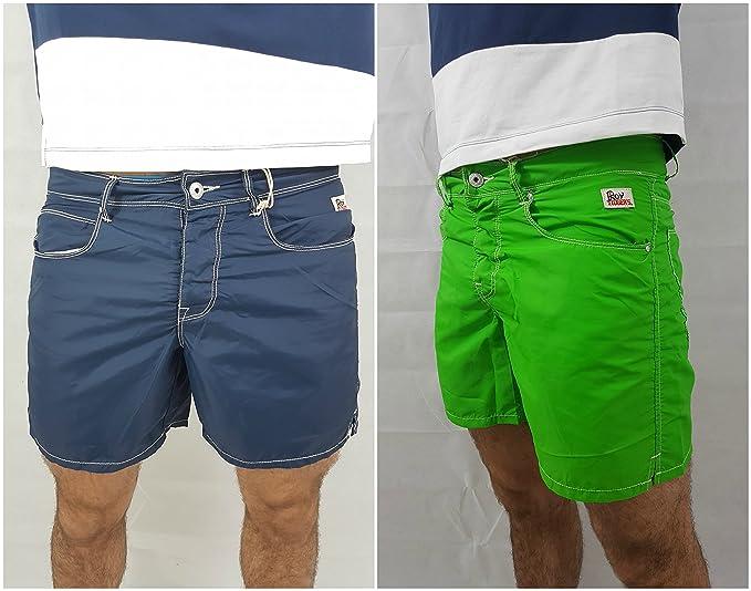 Roy rogers costume da bagno uomo boxer mare pantaloncini shorts
