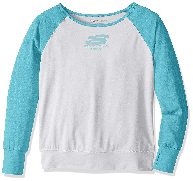 b856512eb419b4 Amazon.com  Skechers Big Girls  Sport Long Sleeve T-Shirt  Clothing