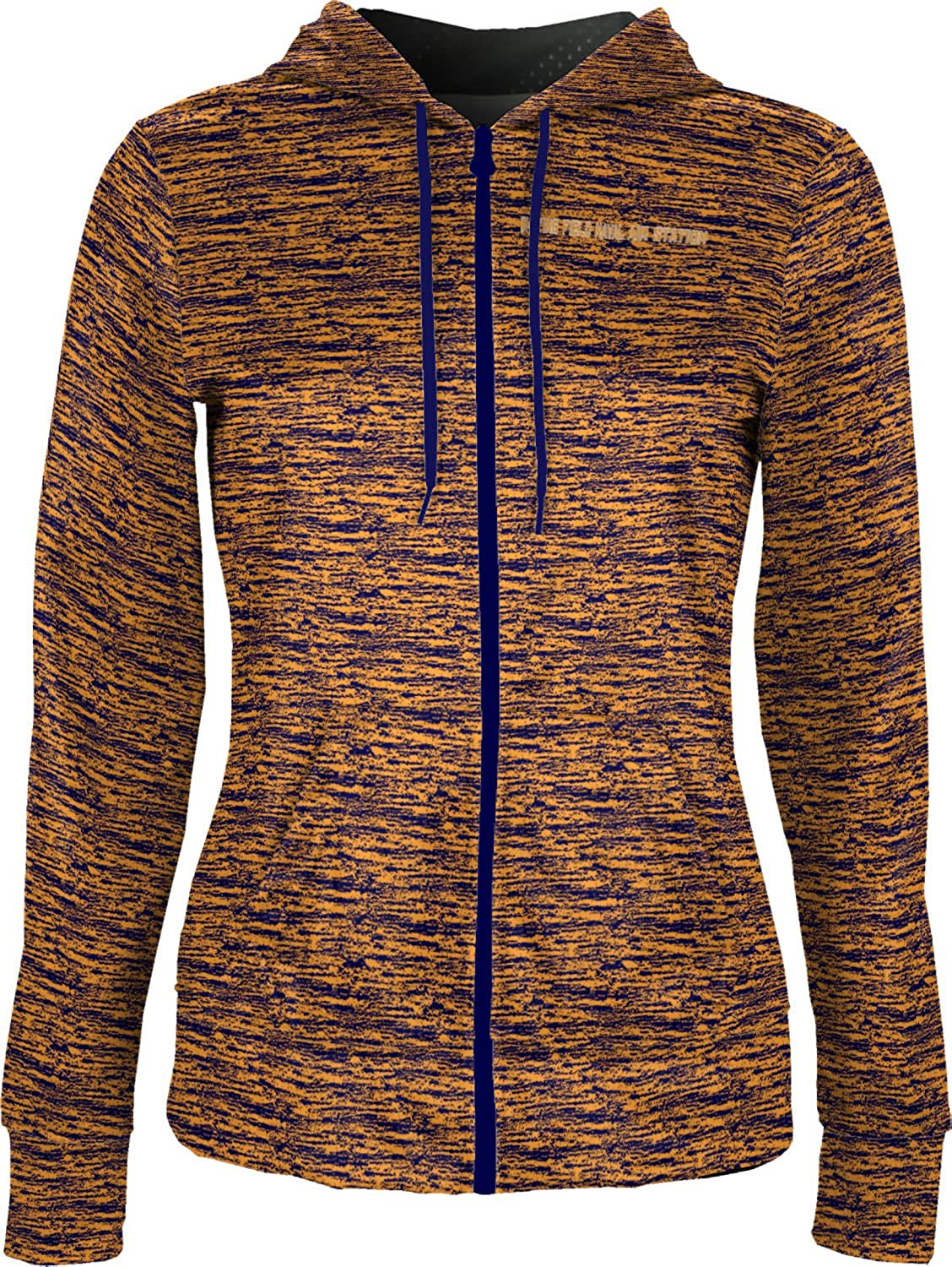 Women's Whiting Field Naval Air Station Military Brushed Fullzip Hoodie
