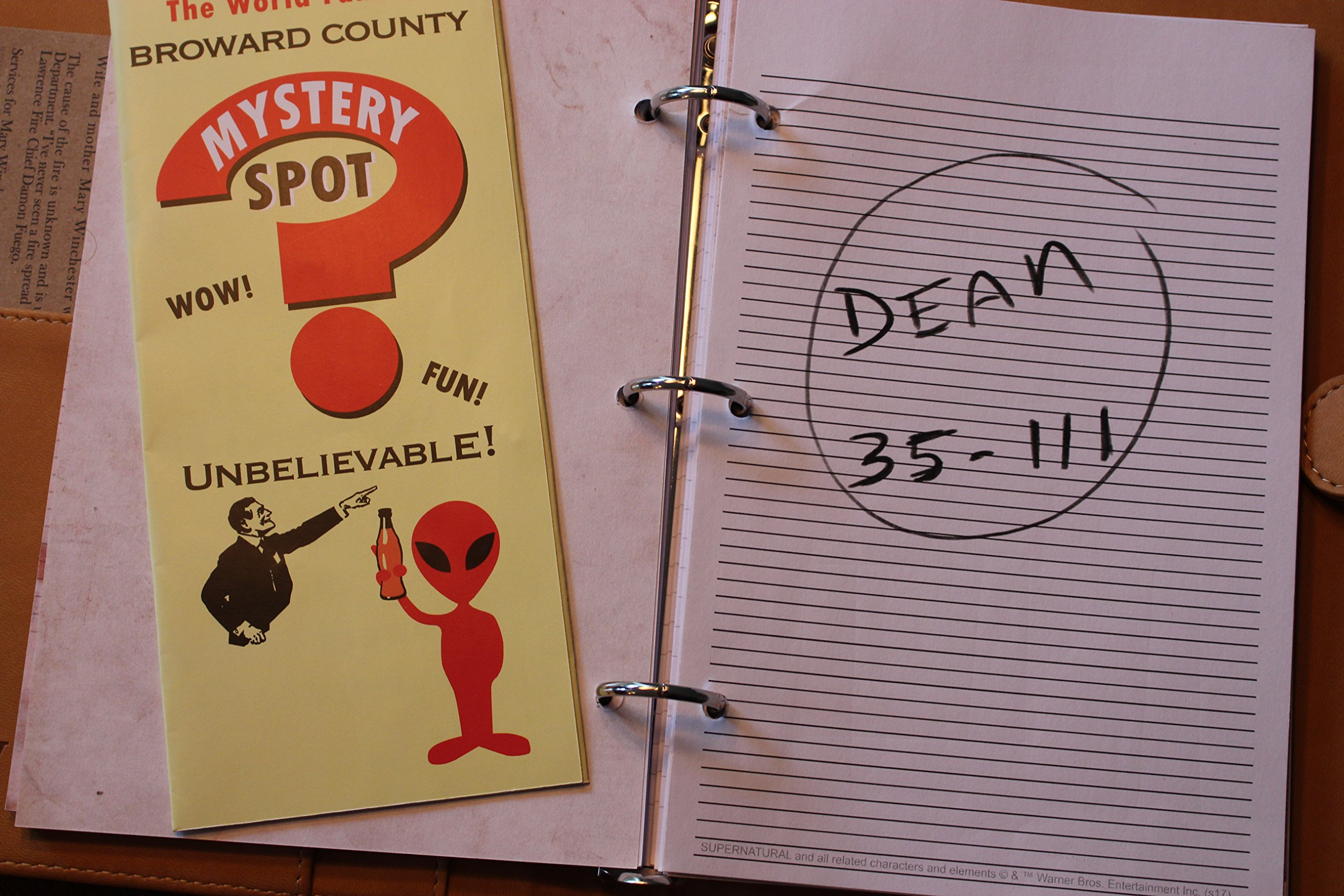 Supernatural John Winchester's Journal: Con*Quest Journals