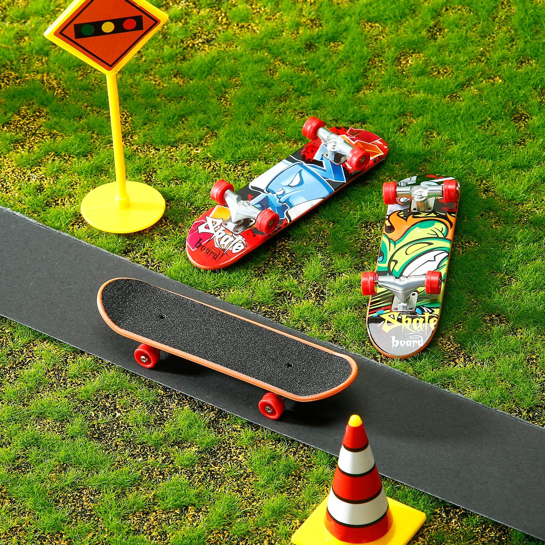 35mm x 110mm 20 Packs BBTO Fingerboard Grip Tape Chape Finger Skateboard Tape for Wooden Fingerboard