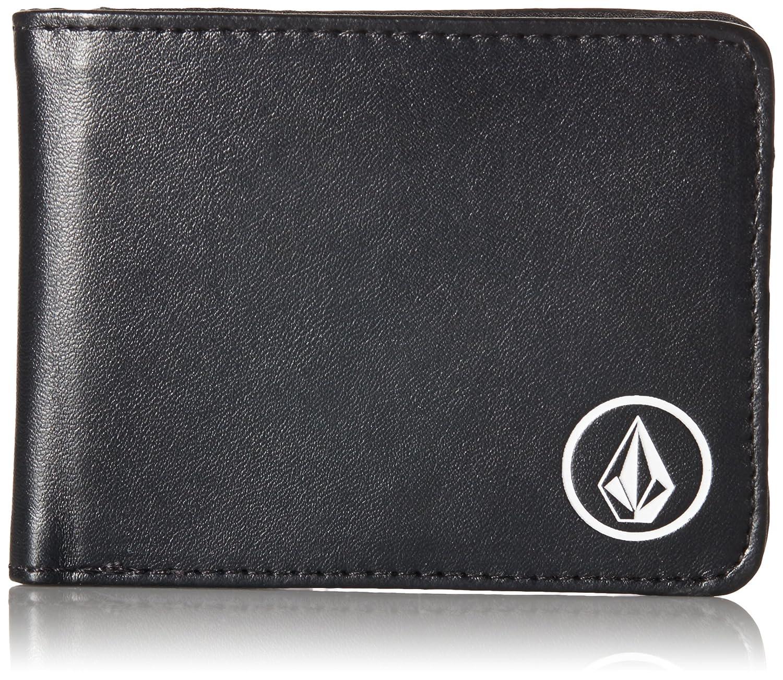 Volcom Men's Corps Wallet Volcom Men' s Corps Wallet Black One Size Volcom Young Men' s