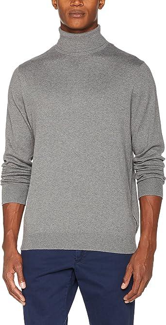 Calvin Klein Safet 2 TN Sweater LS suéter, Negro (Ck Black), XX ...
