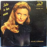 Julie London Julie Is Her Name 2 Lp 45rpm 180 Gram