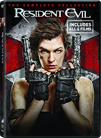 Amazon Com Resident Evil Resident Evil Afterlife Resident Evil Apocalypse Resident Evil Extinction Resident Evil Retribution Set Resident Evil The Final Chapter Set Milla Jovovich Movies Tv