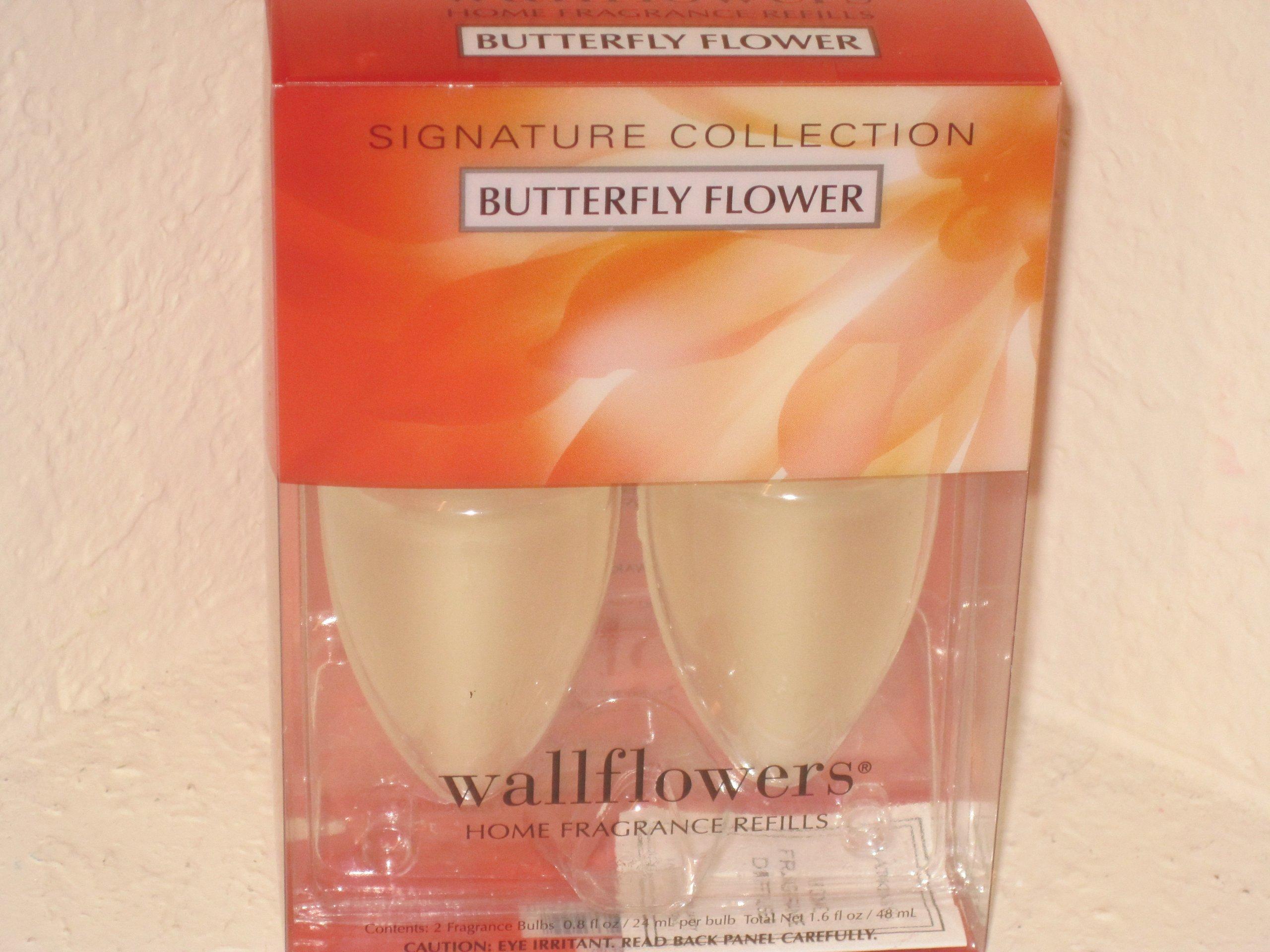 Bath & Body Works Slatkin & Co. Wallflowers Home Fragrance Refill Bulbs - Butterfly Flower by Bath & Body Works (Image #1)