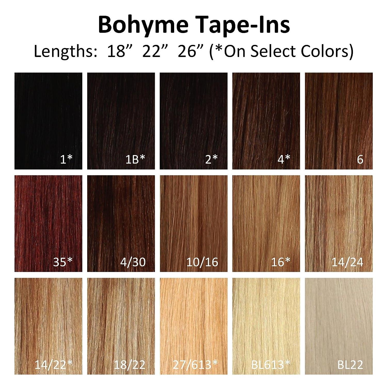 Amazon Bohyme Tape In Skin Weft 100 Remi Human Hair