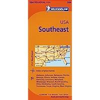 USA: Southeast Region MH584 1:2,400,000