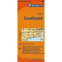 Michelin Map Southeast U.S.