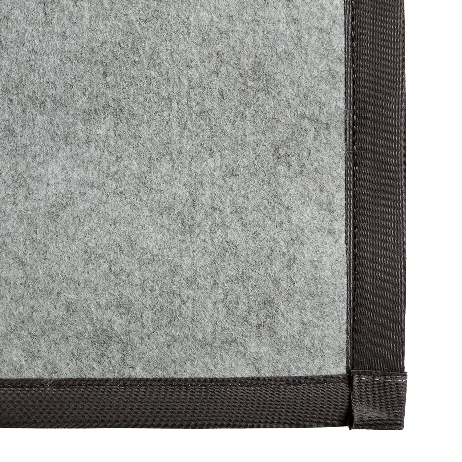 Amazon ICustomRug Zara Contemporary Synthetic Sisal Rug Softer Than Natural Stain Resistant Easy To Clean Beautiful Border In Grey