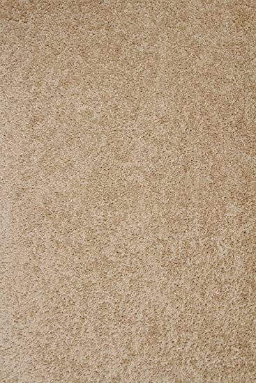 Amazon Com Bright House Solid Color Beige 12 X20 Area Rug