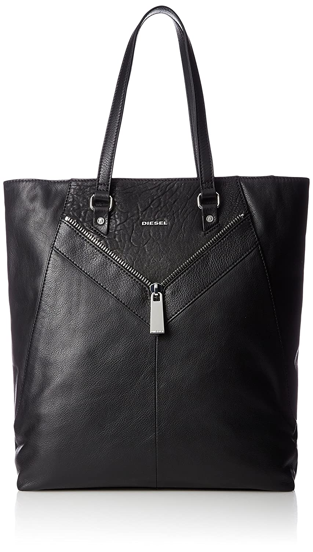 (ディーゼル) DIESEL LE-ZIPPER LE-ESHTELA shopping bag X05166P0804 B0772XW1FKブラック UNI (Free)