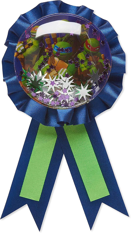 American Greetings Teenage Mutant Ninja Turtles Ribbon Badge, 1-Count