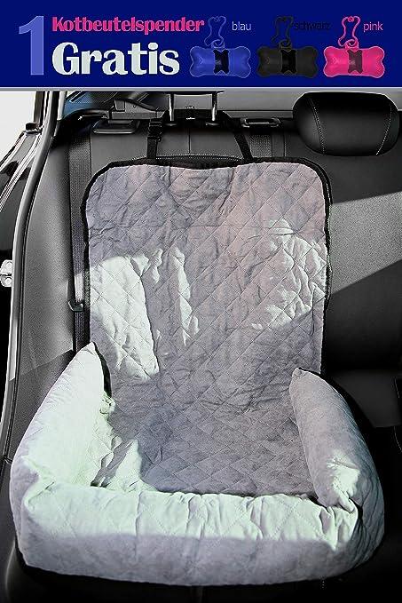 Funda para asiento de coche para perro, protección para asiento delantero o trasero, fácil