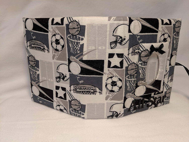 Custom Photo Album Soccer Baseball Football Holds 100 4x6 Photos Handmade Fabric Photo Album