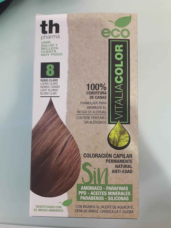 Th Pharma Th Eco Vitalia Color Tinte Nº 8 Rubio Claro 250 g
