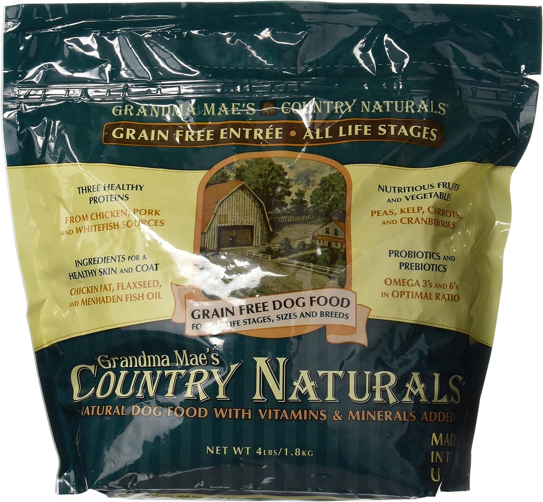 Grandma Mae'S 79700129 4 Lb Country Naturals Premium All Natural Dog Food Grain Free, One Size
