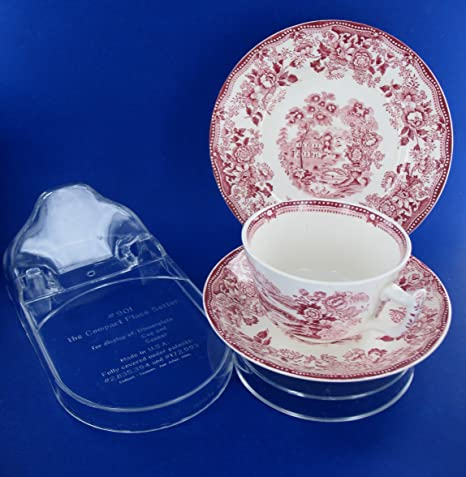 Amazon 40 New Plate Cup And Saucer Display Stands USA Made Stunning Cup And Saucer Display Stands