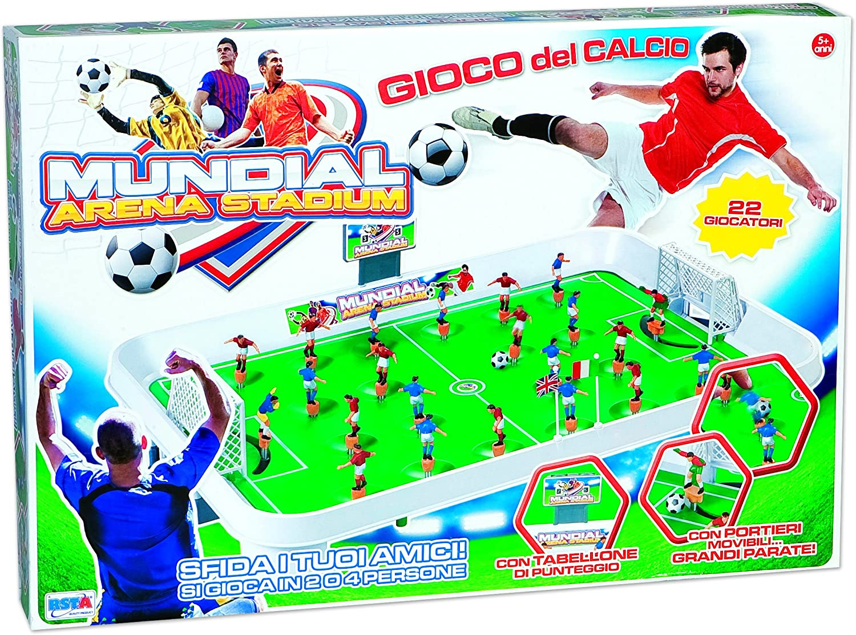 RSTA rstoys 9275 – Futbolín Mundial Arena Stadium: Amazon.es ...