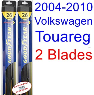 2004-2010 Volkswagen Touareg Replacement Wiper Blade Set/Kit (Set of 2 Blades