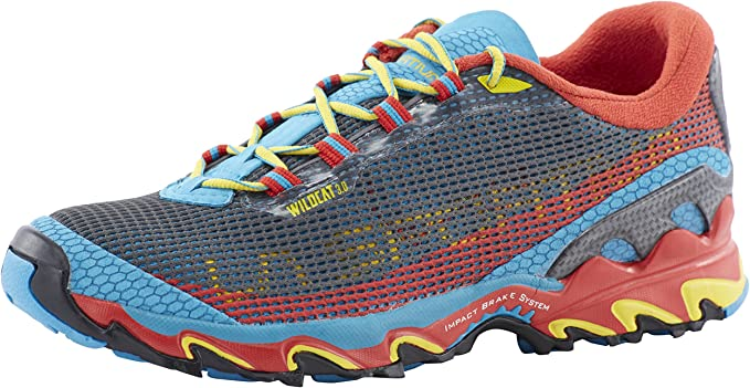 La Sportiva - Zapatillas de running para hombre azul azul: Amazon ...