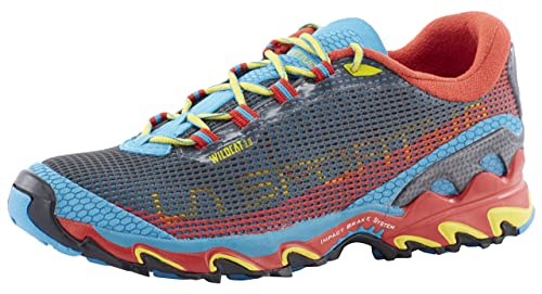 La Sportiva Wild Cat 3.0 - Zapatillas trail running para hombre - rojo/azul Talla 42 2015: Amazon.es: Zapatos y complementos