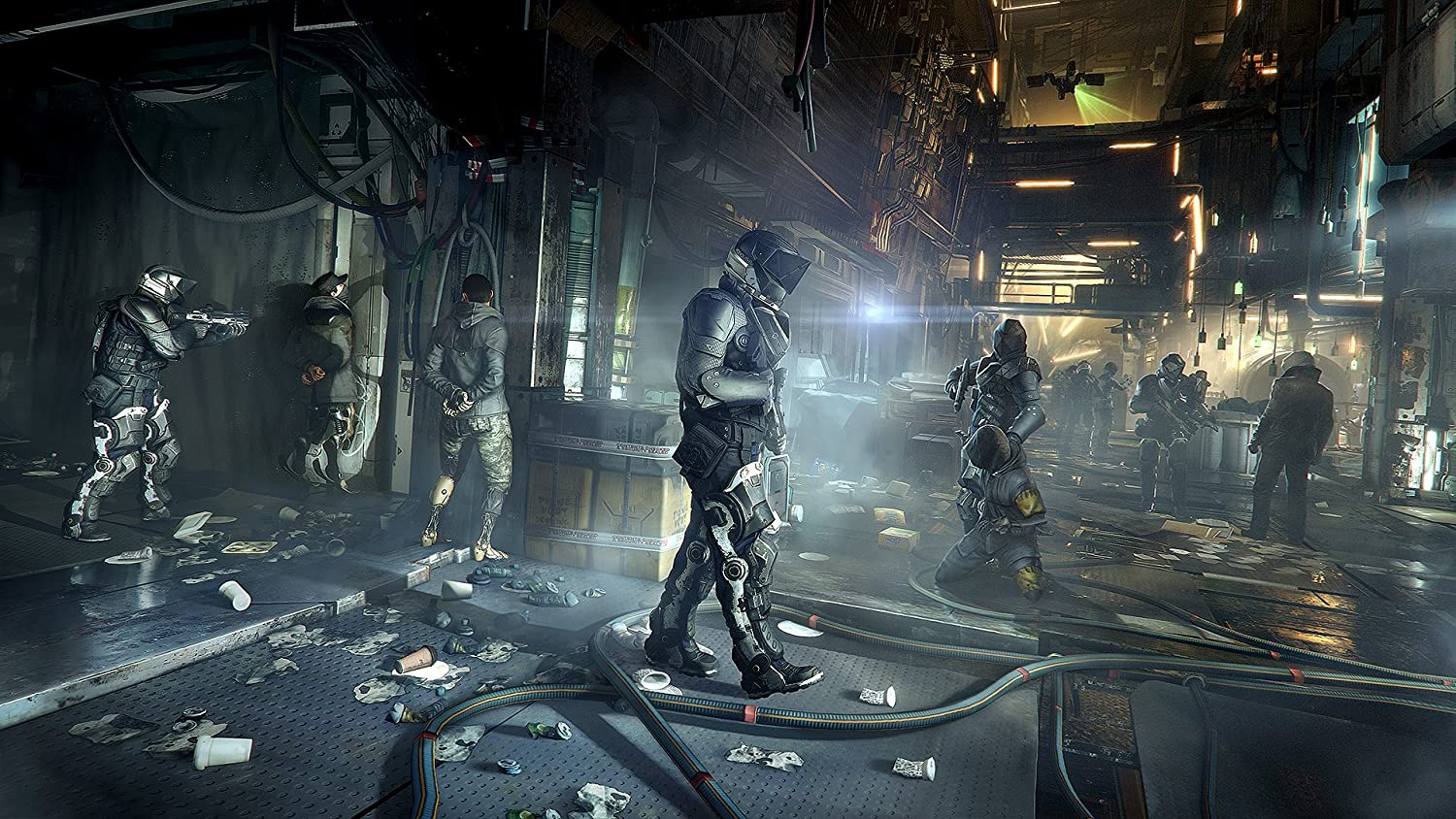 Deus Ex Mankind Divided Playstation 4 Square Enix Sony Ps4 Mass Effect Andromeda R3 Llc Video Games