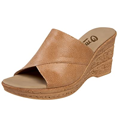 Christina Elastic Banded Cork Wedge Sandals lO5SsrrV