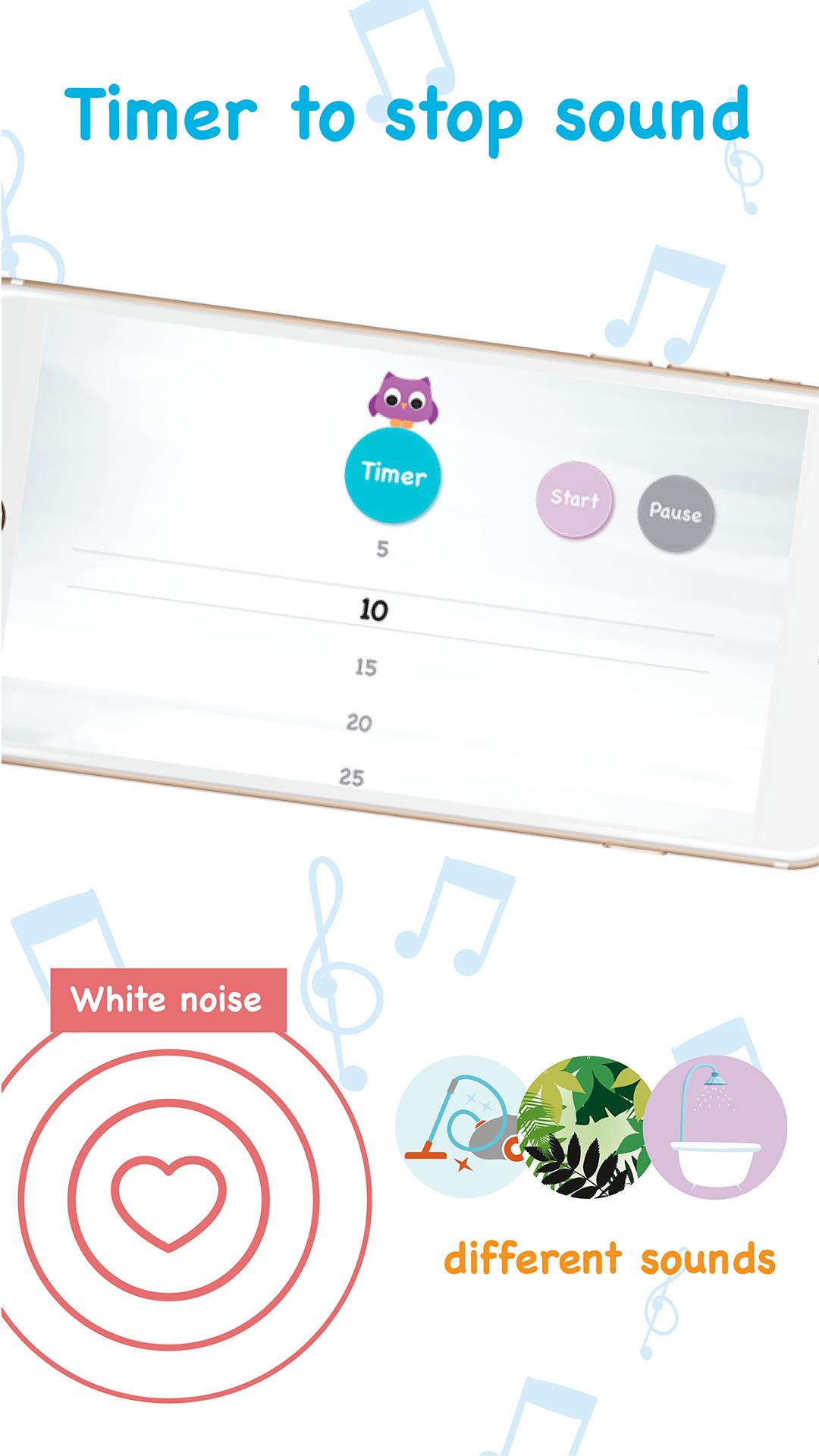 Sleep Baby Owl - Dulces sueños: ruido blanco bebés, sonidos ...
