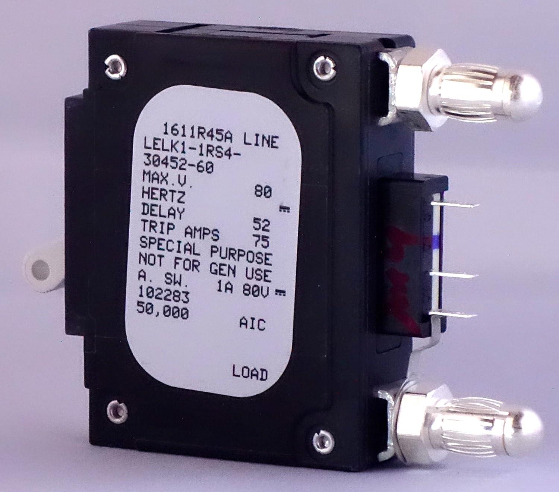 AIRPAX 60 AMP BULLET BREAKER LELK1-1RS4-30452-60 AKA 102283