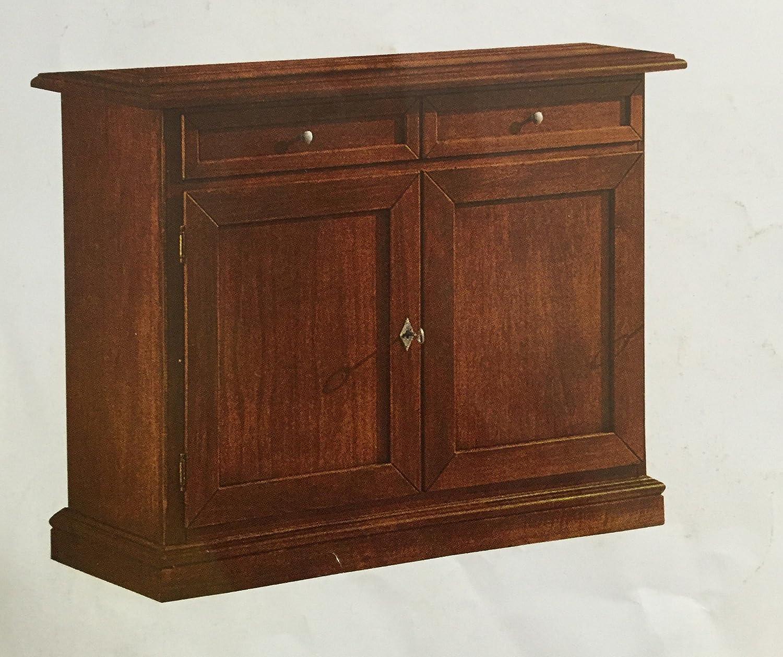 Credenza 2 ante arte povera madia classica in legno massello: Amazon ...