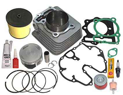 amazon com honda trx400ex trx 400ex 440cc big bore cylinder pistonhonda trx400ex trx 400ex 440cc big bore cylinder piston rings top end kit 99 08