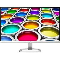 HP 27ea X6W32AA 68,58 cm (27 Zoll) Monitor (VGA, HDMI, 7ms grau zu grau Reaktionszeit) silber/weiß