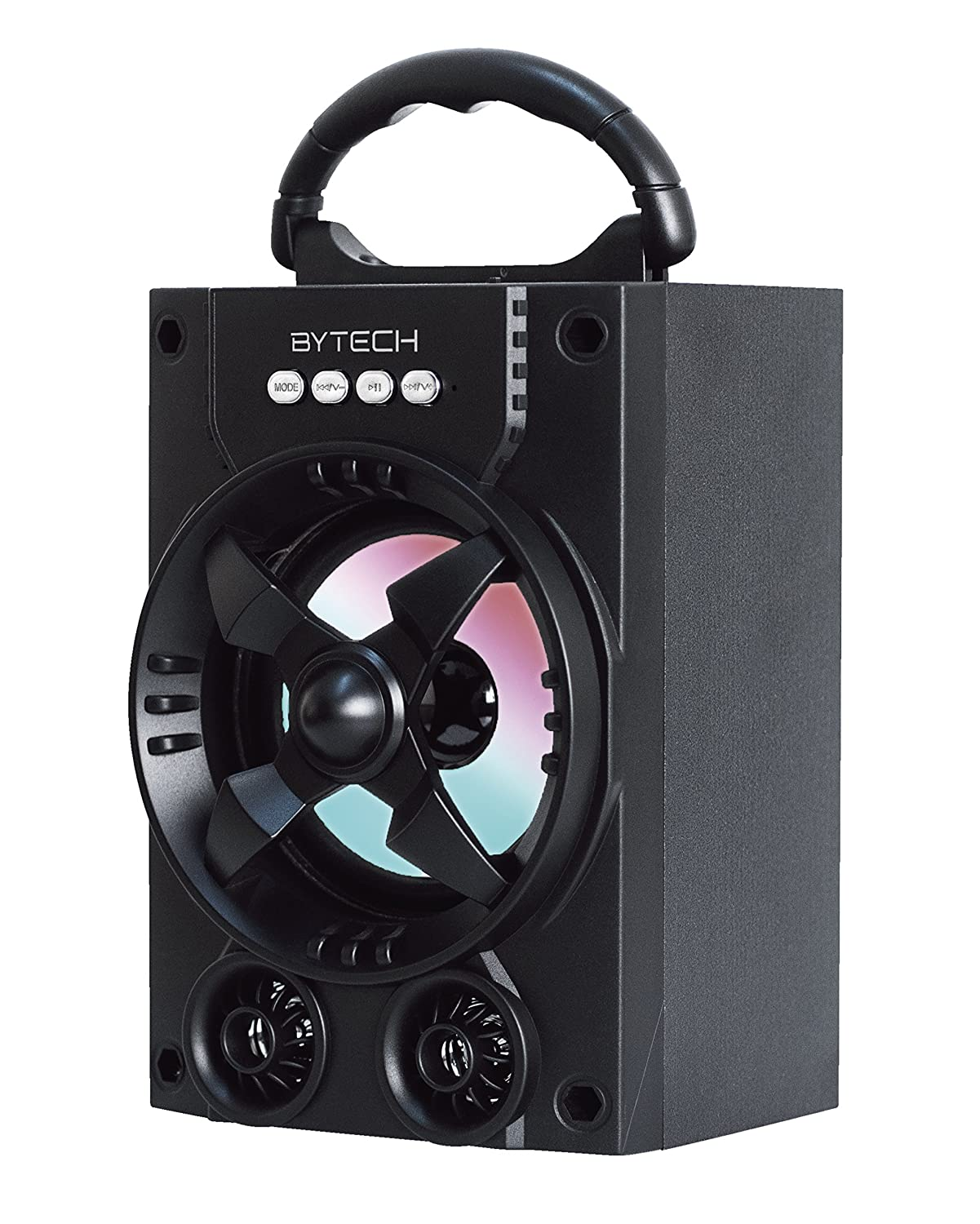 Bytech Universal Bluetooth Wireless Led Performance Electric Fan Manufacturers In Surround Sound Speaker Black Home Audio Theater
