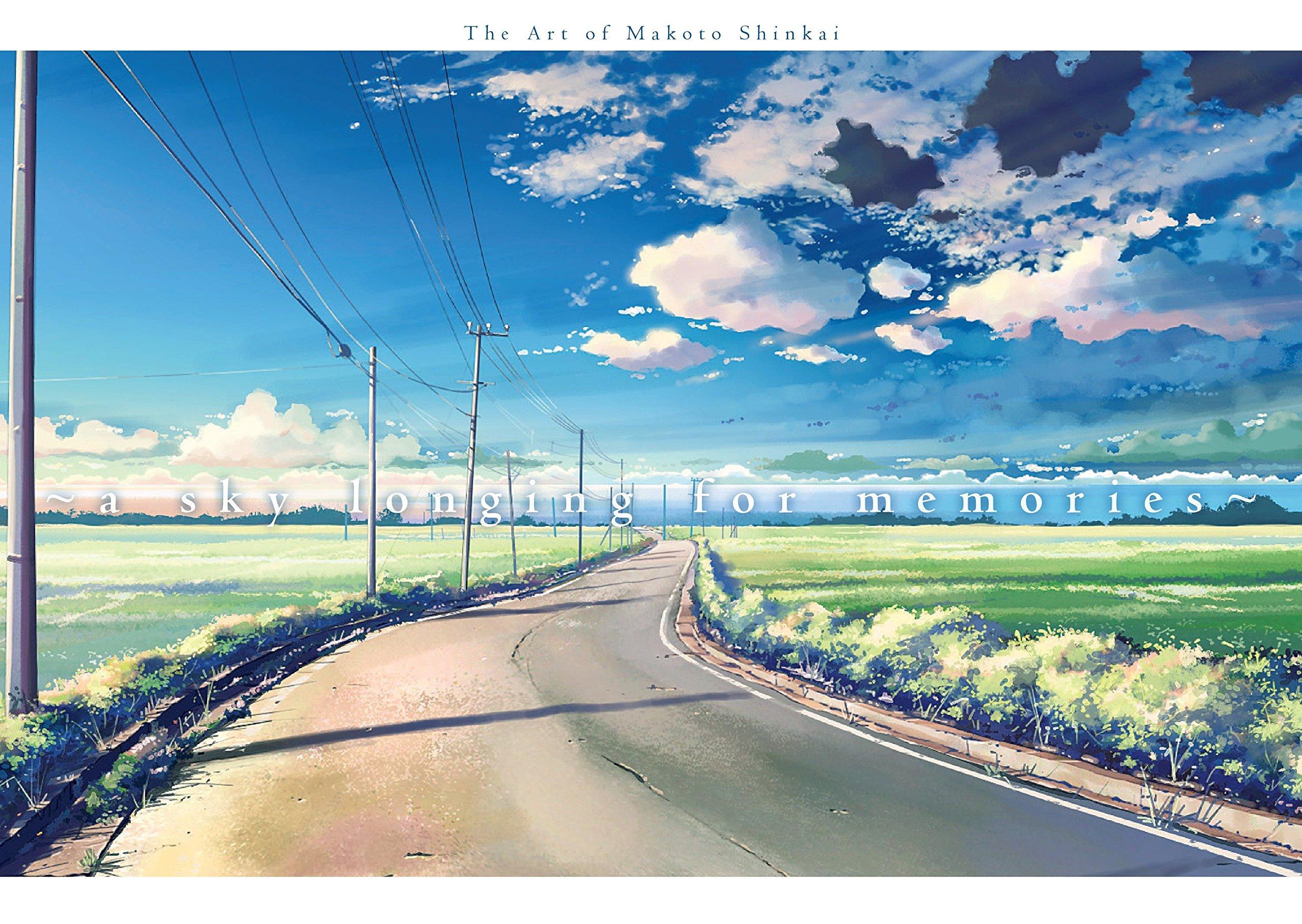 A Sky Longing For Memories The Art Of Makoto Shinkai 9781941220436 Amazon Books