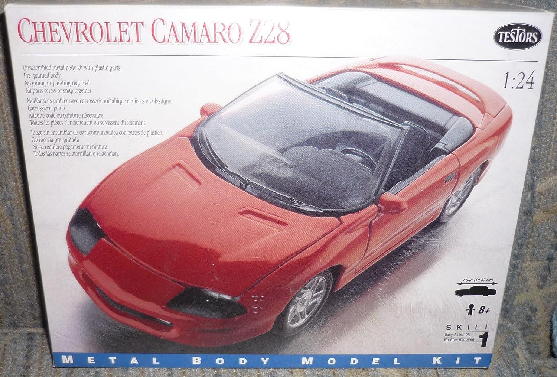 Amazon.com: #180 Testors Chevrolet Camaro Z28 1/24 Scale Metal Model ...