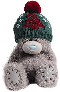 me to you tatty teddy 5 ours en peluche portant un bonnet pompon